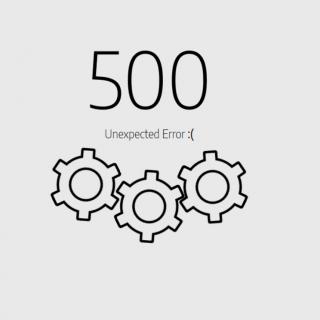 500 error